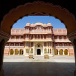 Stock Photo: City Palace in Jaipur, India