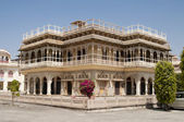 Mubarak Mahal in City Palace in Jaipur, India — Stock Photo