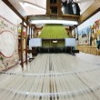 Traditional arabic rug production — Stockfoto