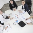 Business in a meeting at office — Stock Photo #10953537