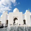 Sheikh zayed mosque — Stock fotografie