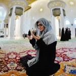 Sheikh zayed mosque — Stock Photo #10994498