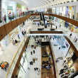 Interior of a shopping mall — Foto de Stock