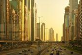 Traffico cittadino — Foto Stock