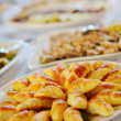Foto de Stock  : Catering food
