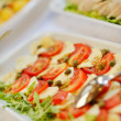Catering mat — Stockfoto