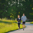 Young couple jogging — Stock Photo #11936661