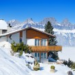 Winter in alps — Stock Photo #10787493