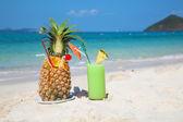 Pinaapple cocktail — Stock Photo