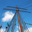 Ships masts - Stock Photo