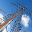 Stock Photo: Ships masts