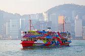 Hong kong trajekt — Stock fotografie
