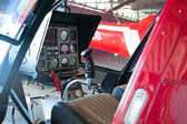 Helicopter dashboard — Stock Photo