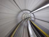 トンネルを通って — ストック写真