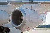 Silnik samolotu — Zdjęcie stockowe