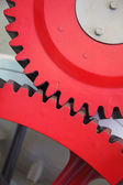 Huge cog wheels — Stock Photo