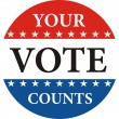 Your vote counts — Stock Photo #11153313