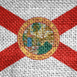 Florida state flag — Stock Photo