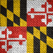 Maryland state flag - Stock Photo