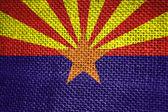 Bandera del estado de arizona — Foto de Stock
