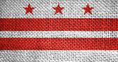 Bandiera dello stato di Columbia — Foto Stock