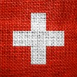 Flag of Switzerland — Foto de Stock
