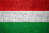 Flag of hungary — Stock Photo