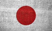 Flag of japan — Stock Photo