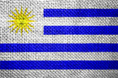 Bandera de uruguay — Foto de Stock