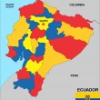 Ecuador map — Stock Photo #11824039