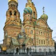 Petersburg savior-on-the-blood tample — Stock Photo