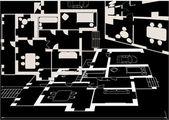 Ljus platt planer på svart — Stockvektor