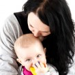 Mother with baby girl — Stock Photo #10773302