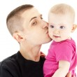 Fathe and baby — Stock Photo #10773307
