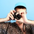 Royalty-Free Stock Photo: Photo camera guy