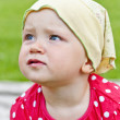 Baby In Park — Stock Photo