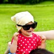 Baby In Sunglasses — Stock Photo