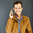 Teenager Girl Call — Stock Photo