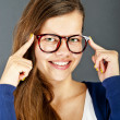 Woman With Glasses — Stock Photo #12347136