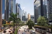 The modern urban landscape of Hong Kong — Stock Photo
