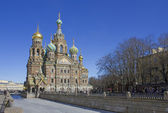 Church of the Savior on Blood. Russia. St. Petersburg — Stock Photo