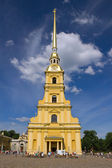 Peter and Paul Cathedral. St. Petersburg, Russia — Stock Photo