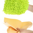 Stock Photo: Sponge background