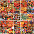 Provence pottery collage - Foto Stock