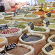 Herbs and spices on a french market — Stock Photo #11080060