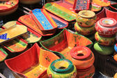 Colorful Provencal Pottery — Foto de Stock