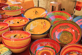 Colorful Provencal Pottery — Stock Photo