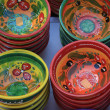 Traditional pottery on a market in the Provence - Foto Stock
