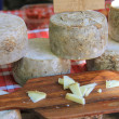 Cheese on a French market — Foto Stock