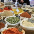 Herbs and spices on a french market — 图库照片